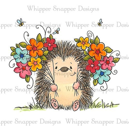 Whipper Snapper - Quill Cling Stamp