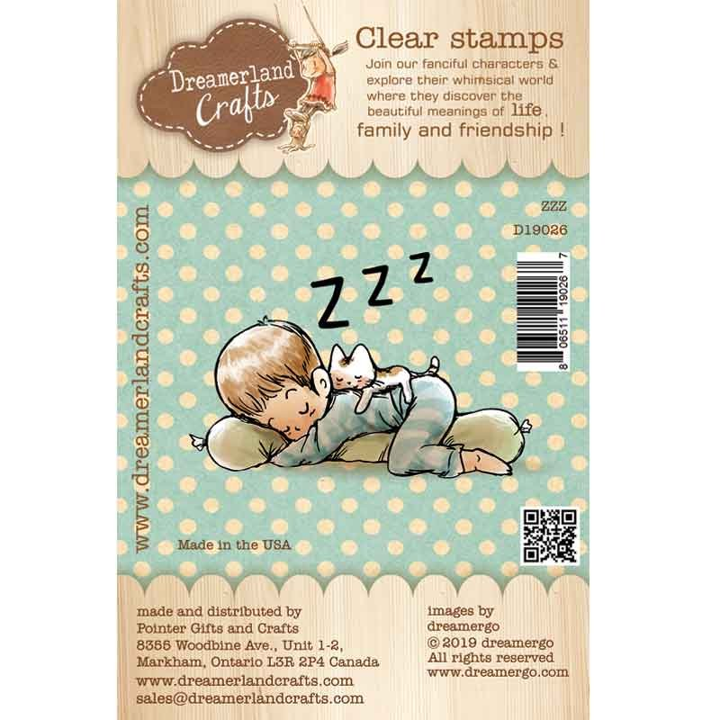 Dreamerland Crafts - ZZZ Stamp