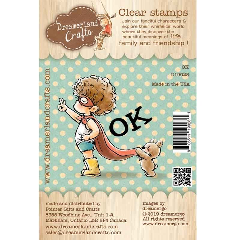 Dreamerland Crafts - OK Stamp
