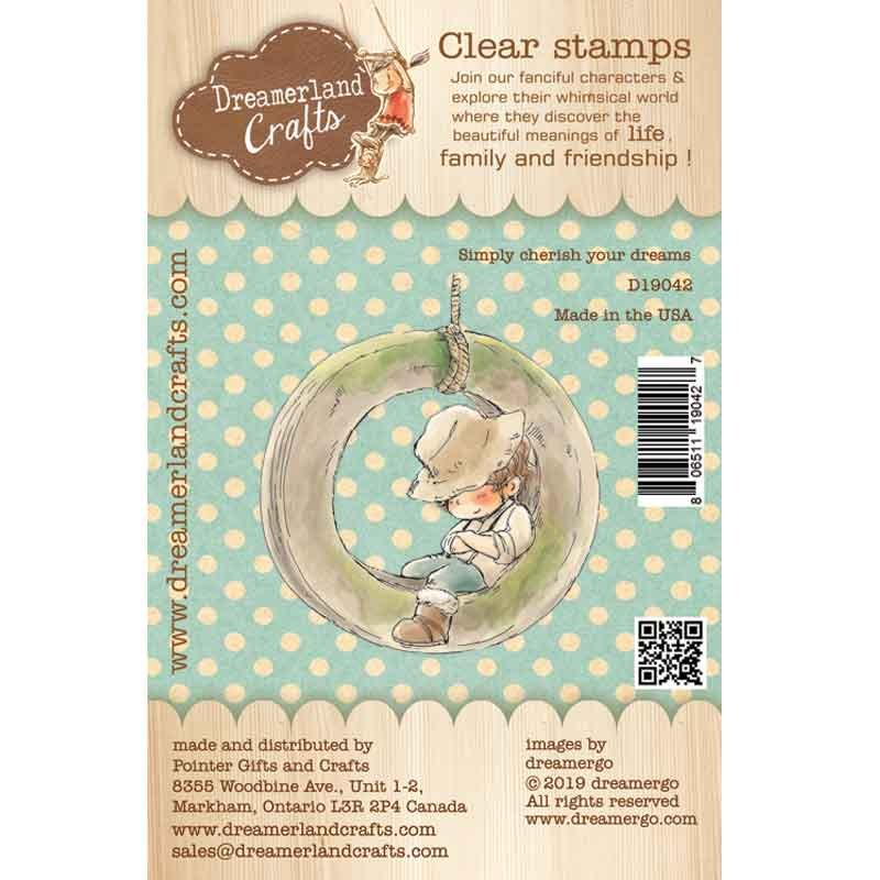 Dreamerland Crafts - Simply Cherish Your Dreams Stamp