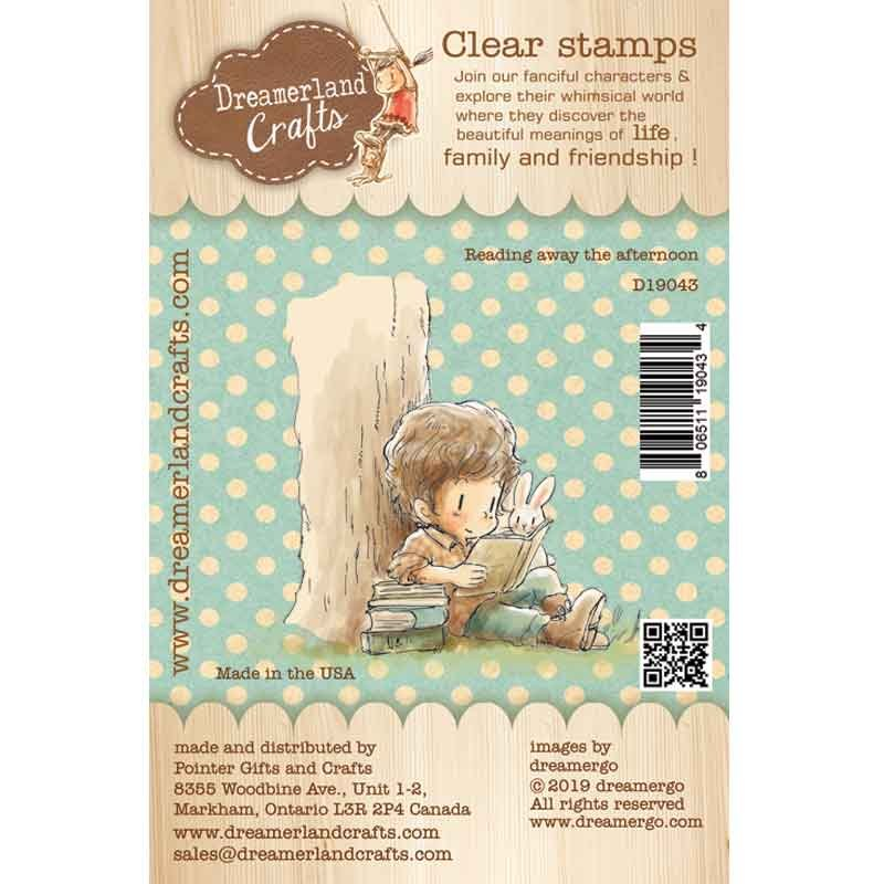 Dreamerland Crafts - Reading AwayThe Afternoon Stamp