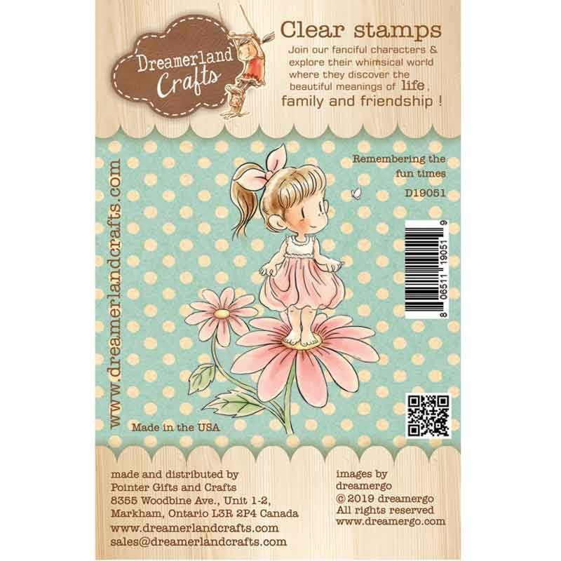 Dreamerland Crafts - Remembering The Fun Times Stamp