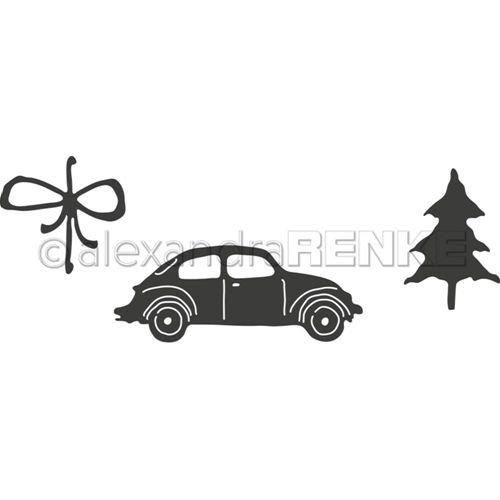 Alexandra Renke - Car with Fir Die