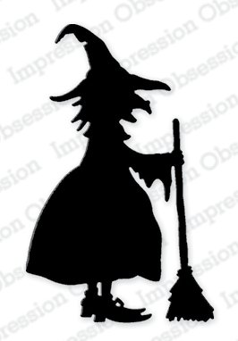 IO - Witch 1 Cling Stamp