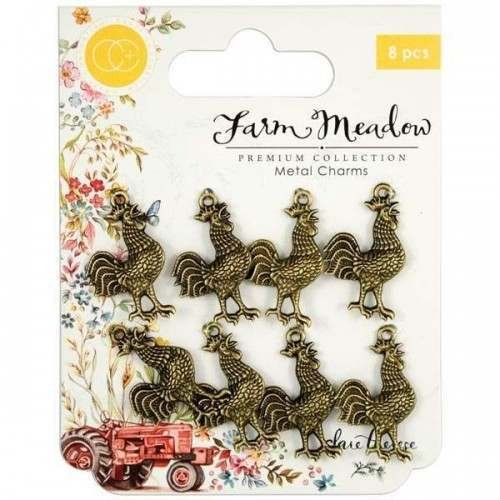 Farm Meadow - Rooster Charms