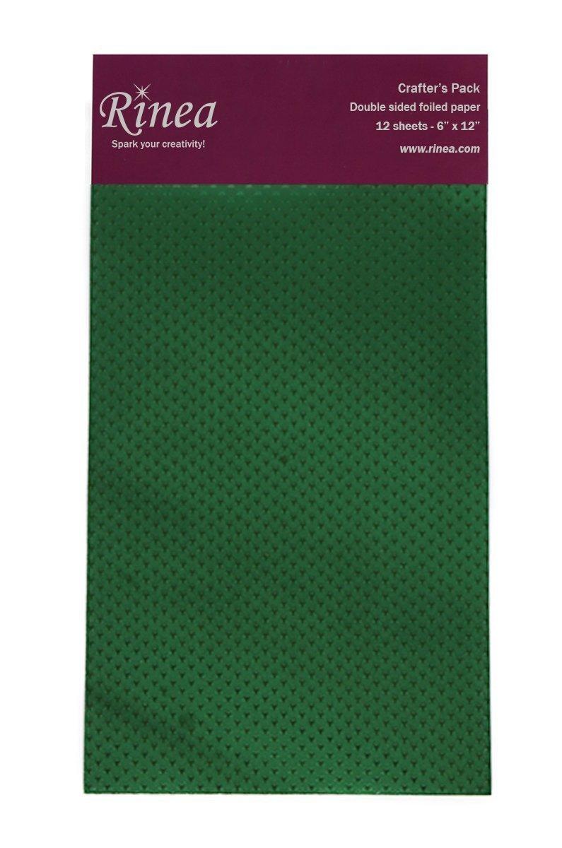 Rinea - Emerald Starstruck Foil Pack 6x12