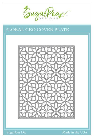 Sugar Pea Designs - Floral Geo CoverPlate Die