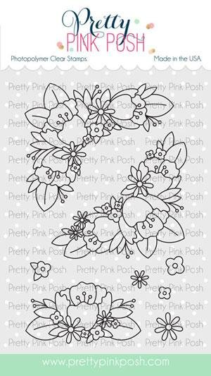 PPP - Floral Corners Stamp Set