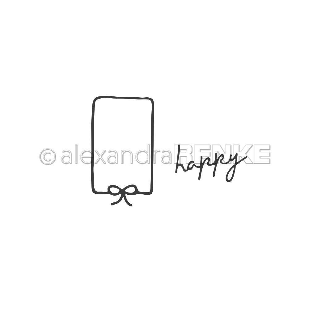 Alexandra Renke - Framed Ribbon Happy Die