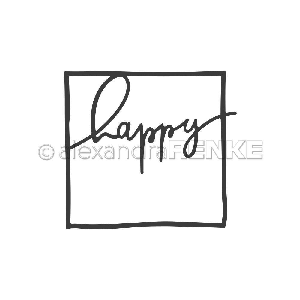 Alexandra Renke - Framed Happy Die
