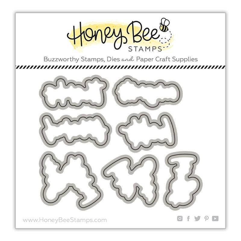 Honey Bee Stamps - Framed: Anemones Die Set