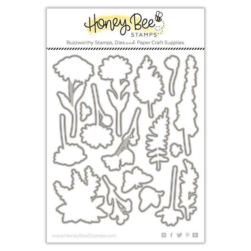 Honey Bee Stamps - Wildflowers Die Set