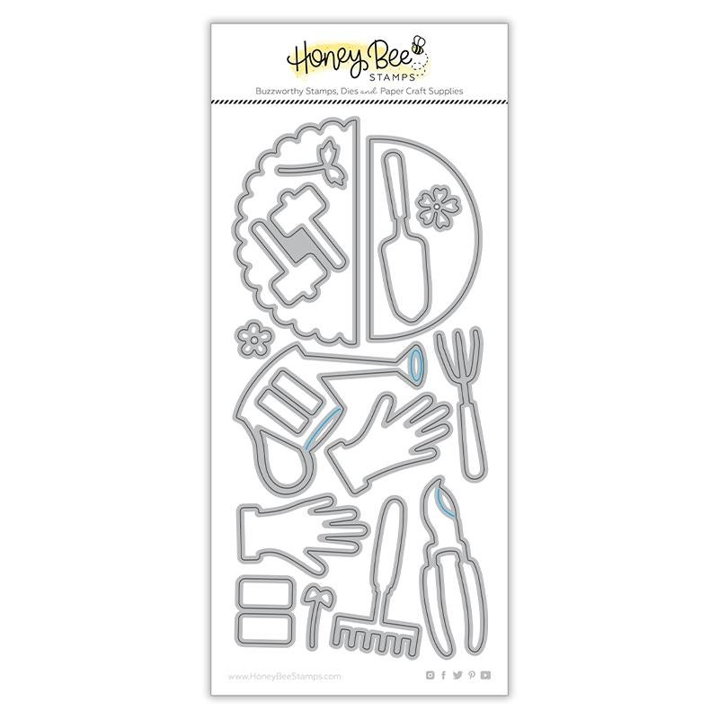 Honey Bee Stamps - Apron: Garden Tools Add-On Honey Cuts