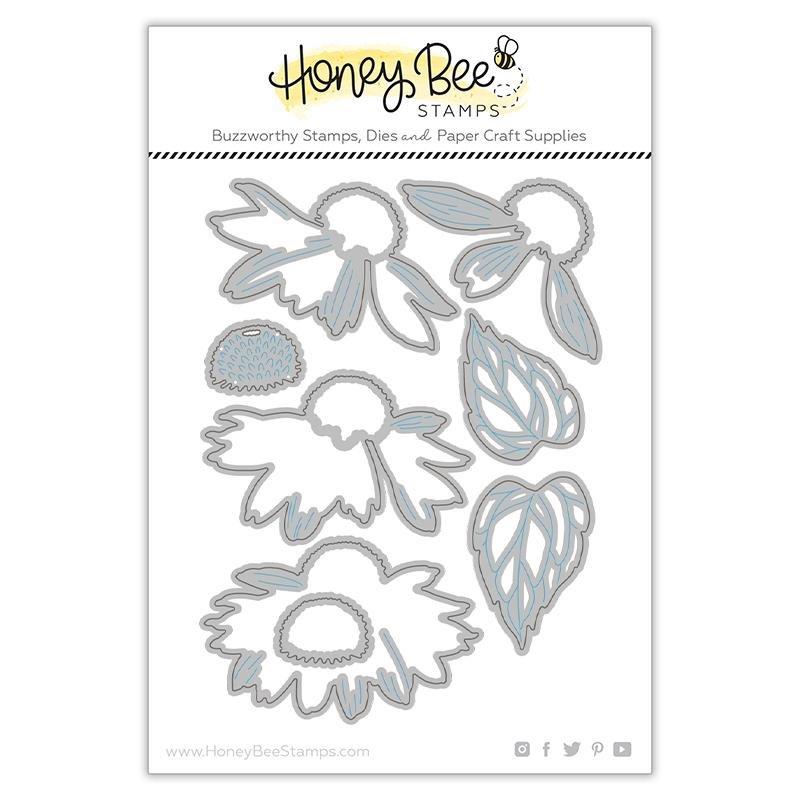 Honey Bee Stamps - Coneflower Die