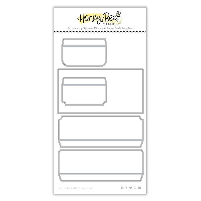 Honey Bee Stamps - Mini Slimline Envelope Die