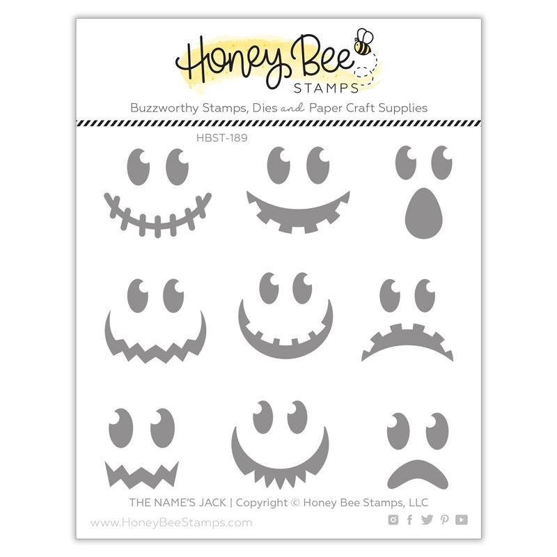 Honey Bee Stamps - The Name's Jack Honey Cuts