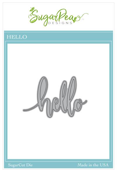 Sugar Pea Designs - Hello Die