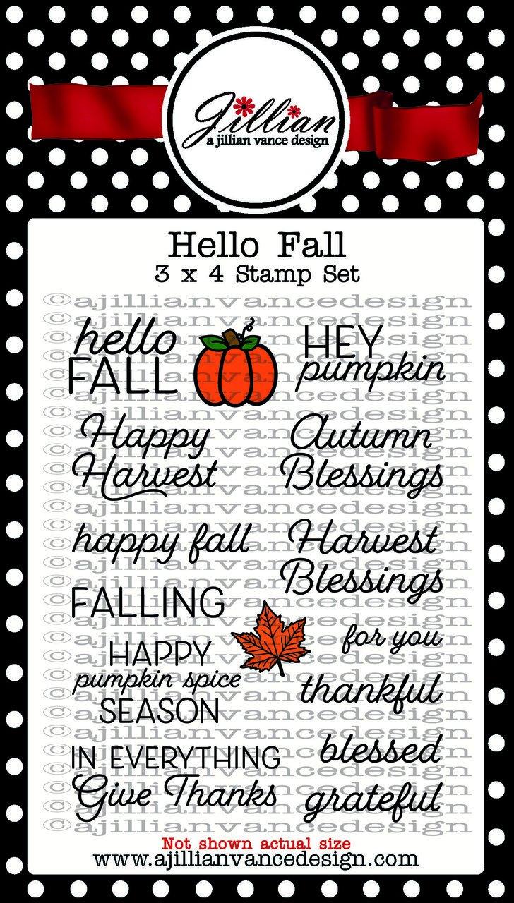Jillian Vance - Hello Fall Stamp Set