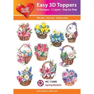 Hearty Crafts Easy 3D Toppers - Easter Vintage (2)