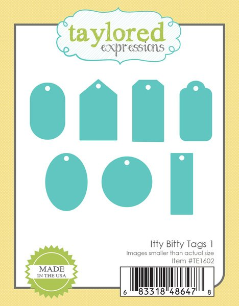 Taylored Expressions - Itty Bitty Tags 1 Die Set