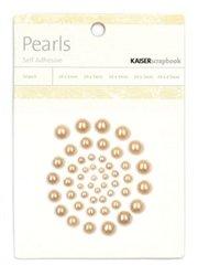 Kaiser Craft - Pearls, Self Adhesive - Latte