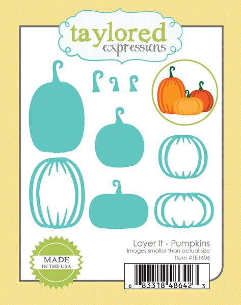 Taylored Expressions - Layer It - Pumpkins Die Set