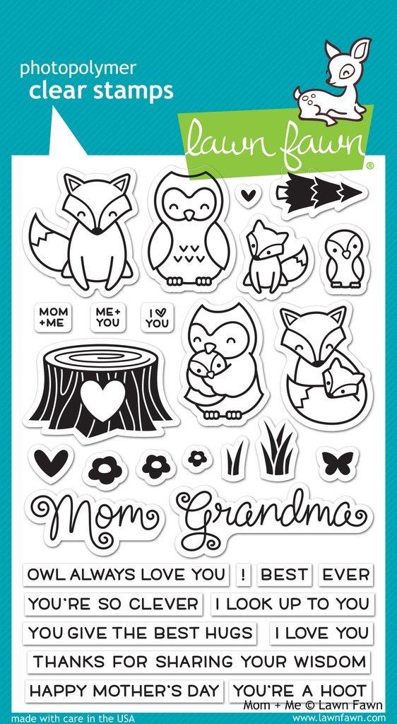 Lawn Fawn - Mom + Me Stamp/ Die Set