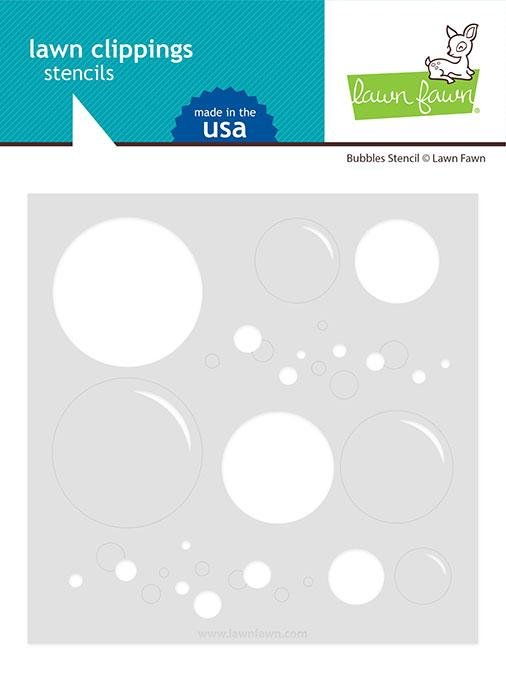 Lawn Fawn - Bubbles Stencil
