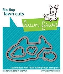 Lawn Fawn - Duh-Nuh Flip-Flop Die
