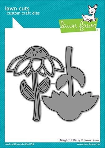 Lawn Fawn - Delightful Daisy Die