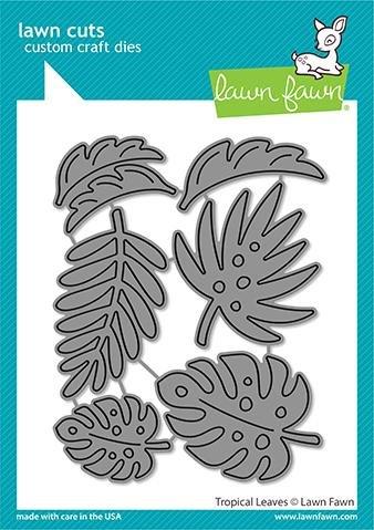 Lawn Fawn - Tropical Leaves Die