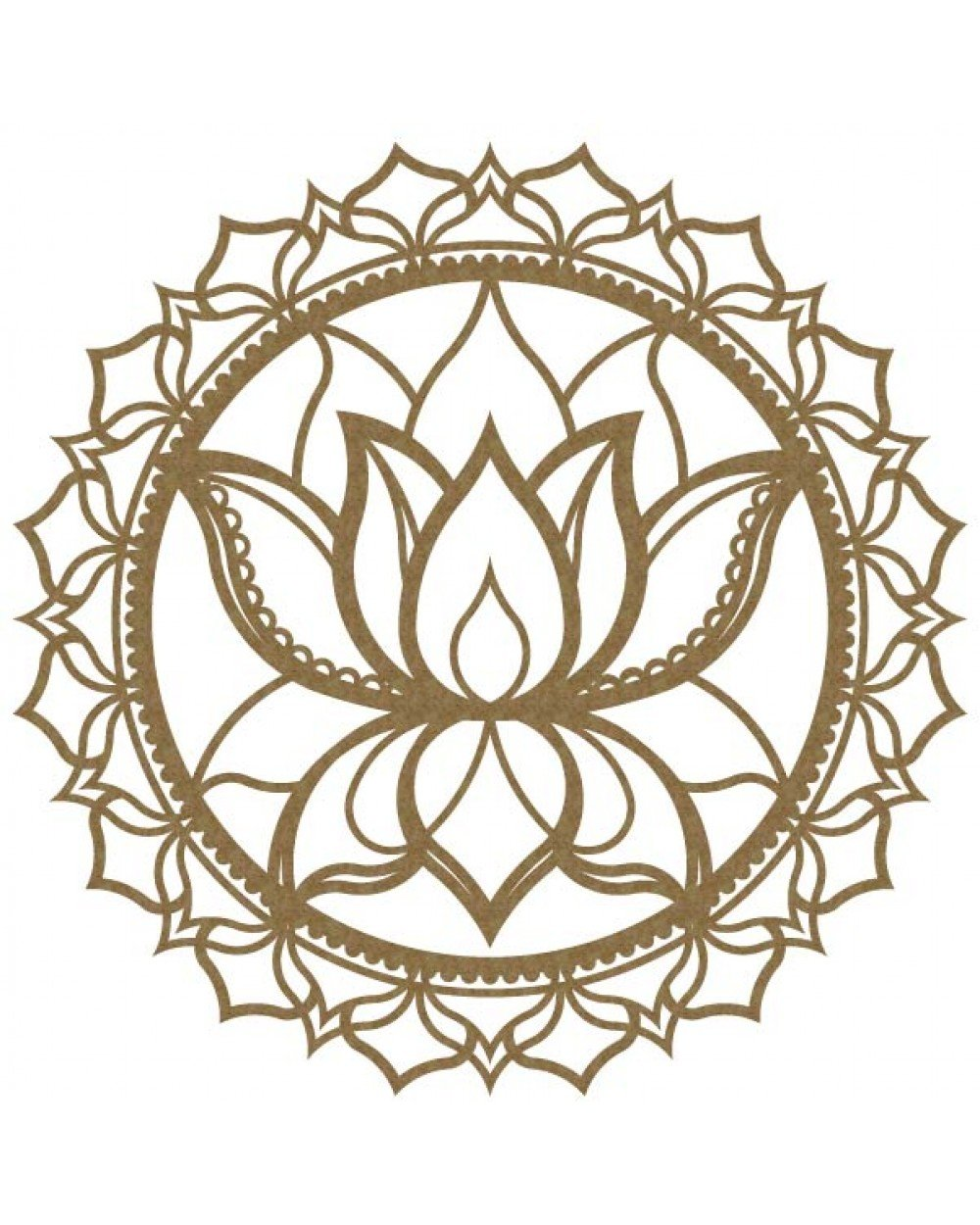 CE - Mandala Lotus