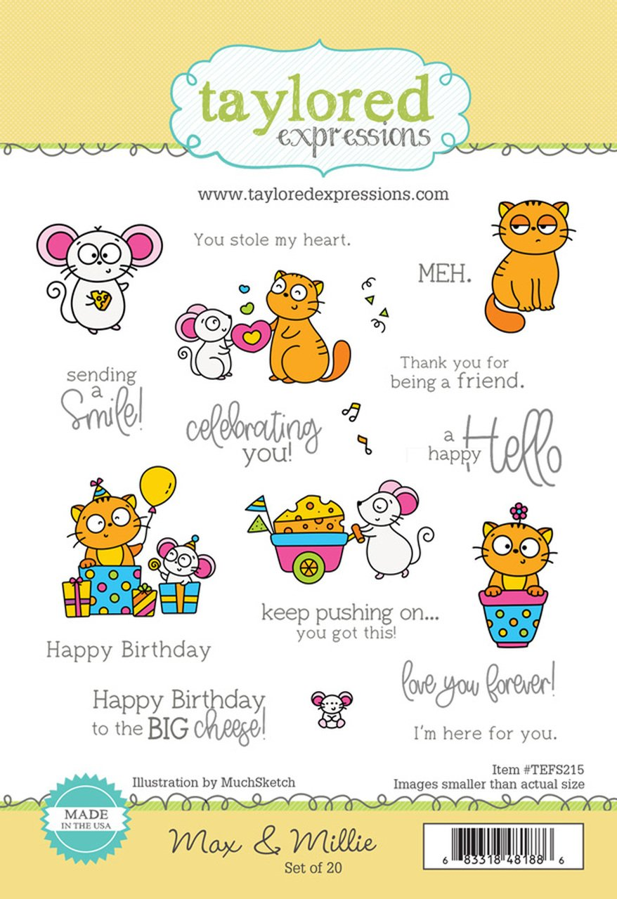 Taylored Expressions - Max & Millie Stamp Set