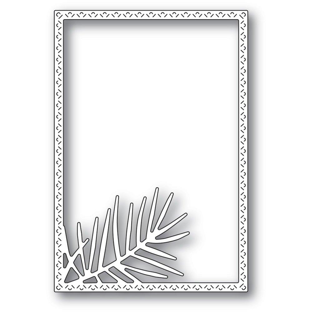 Memory Box - Pointed Pine Needle Frame Die