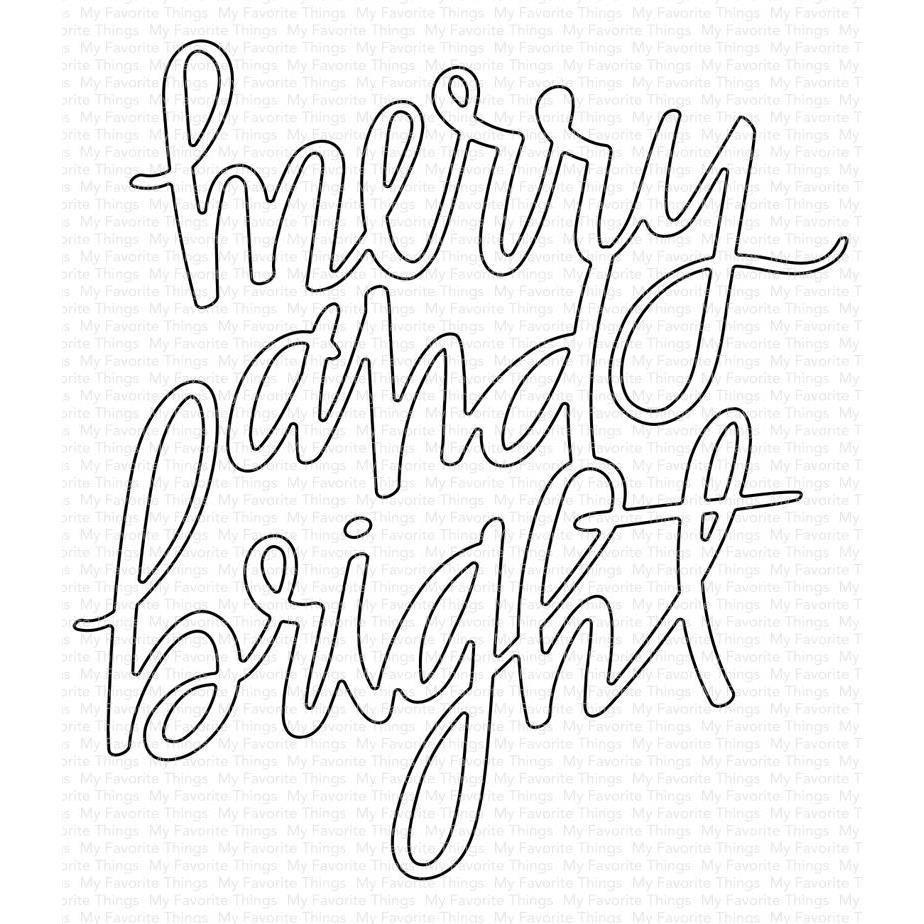 MFT - Merry & Bright Die