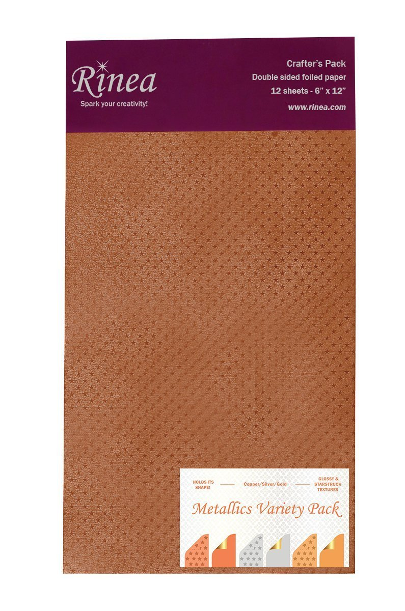 Rinea - Metallic Foil Variety Pack 6x12
