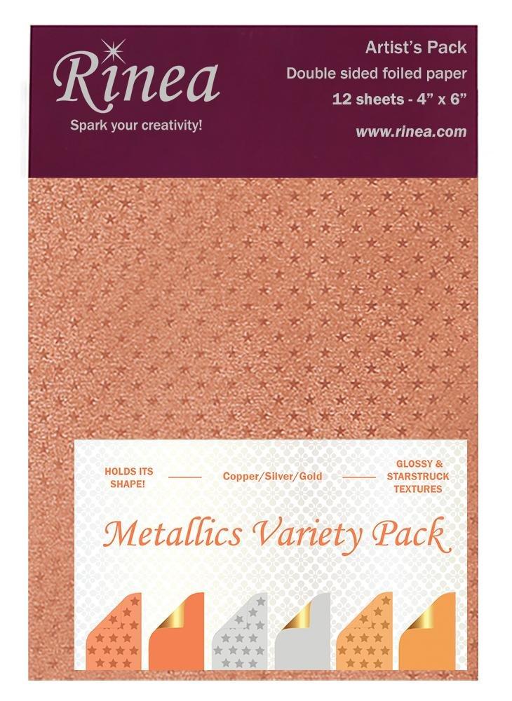 Rinea - Metallics Variety Pack 4x6