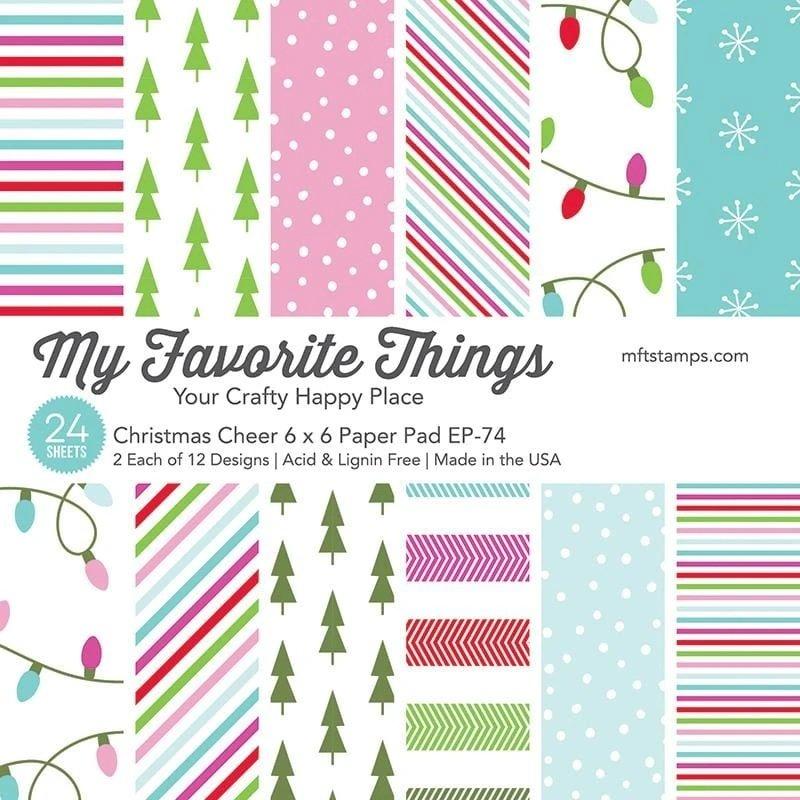 MFT - Christmas Cheer Paper Pad 6x6