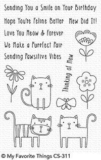 MFT - Meow Mix Stamp Set