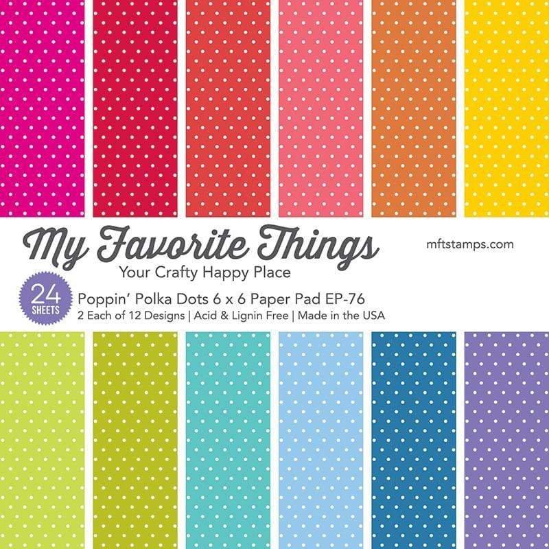 MFT - Poppin' Polka Dots Paper Pad