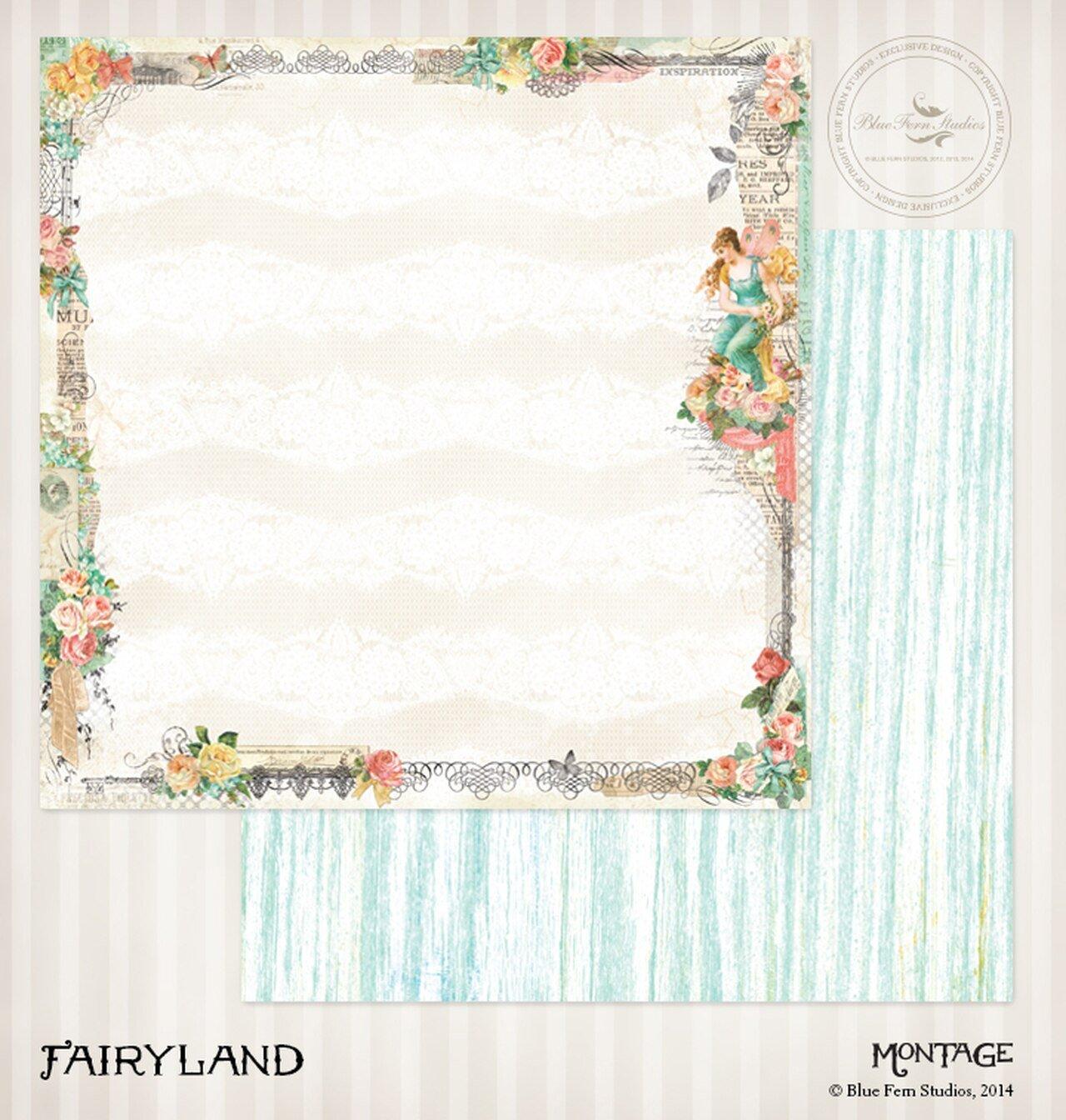 Blue Fern Studios - Fairyland 12x12 Paper