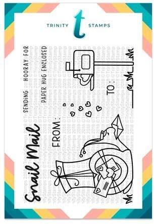 Trinity Stamps - Mr. Snailman Stamp Set