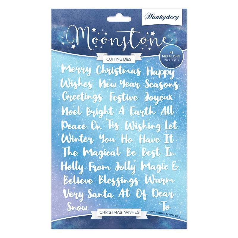 Hunkydory Crafts - Christmas Wishes Moonstone Dies