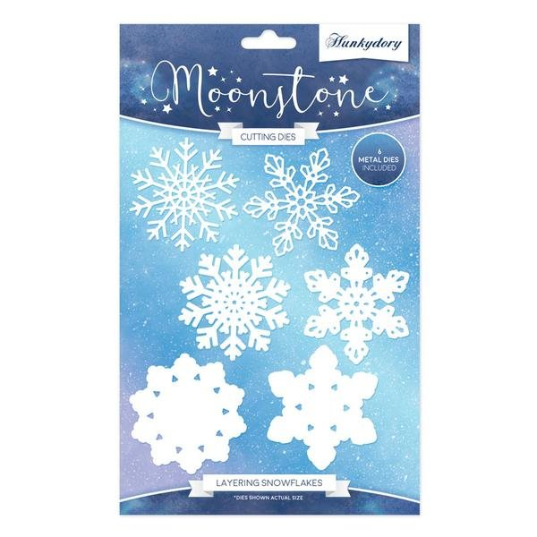 Moonstone - Layering Snowflakes Die Set