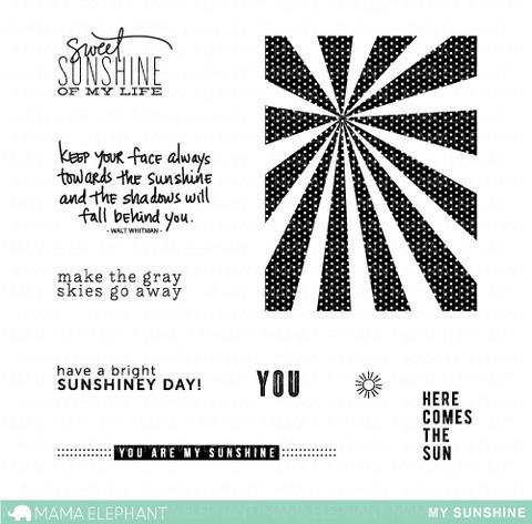 Mama Elephant - My Sunshine Stamp Set