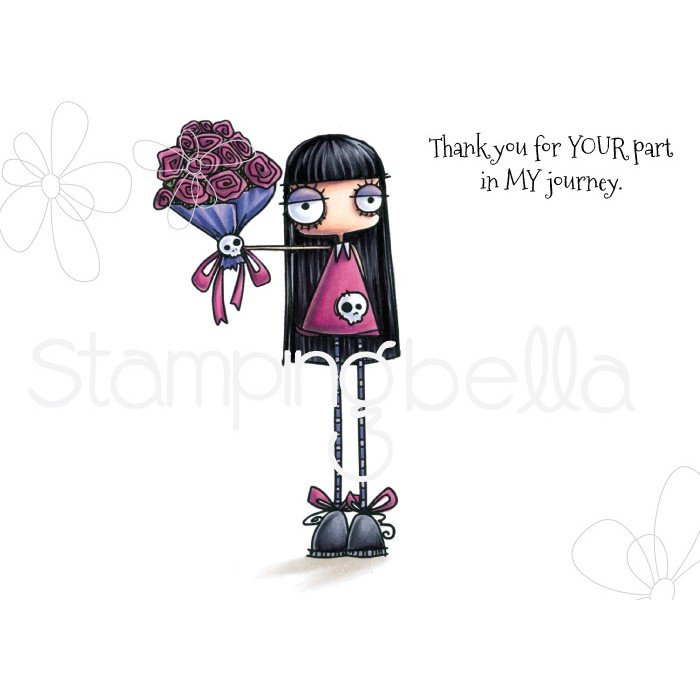 Stamping Bella - Oddball Bouquet Stamp