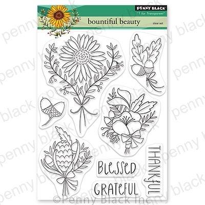 Penny Black - Bountiful Beauty Stamp Set
