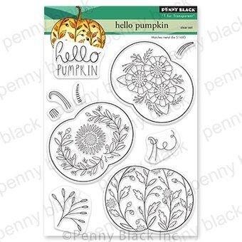 Penny Black - Hello Pumpkin Stamp Set