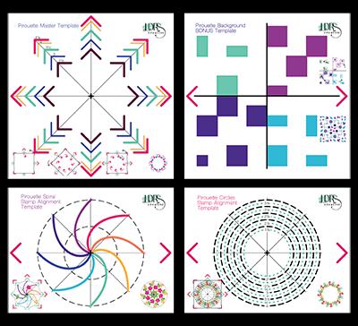 LDRS Creative - Pirouette Pattern Templates