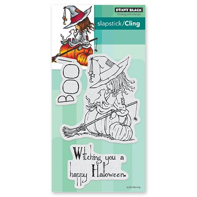 Penny Black - Witching You Cling Stamp